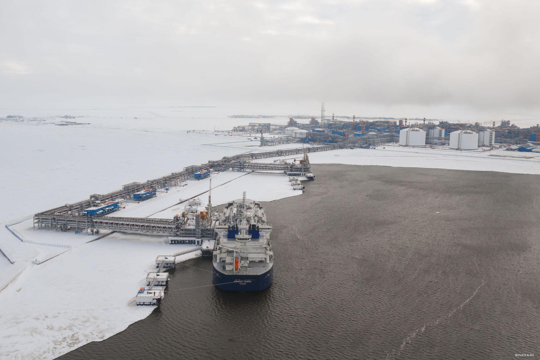Yamal LNG tanker