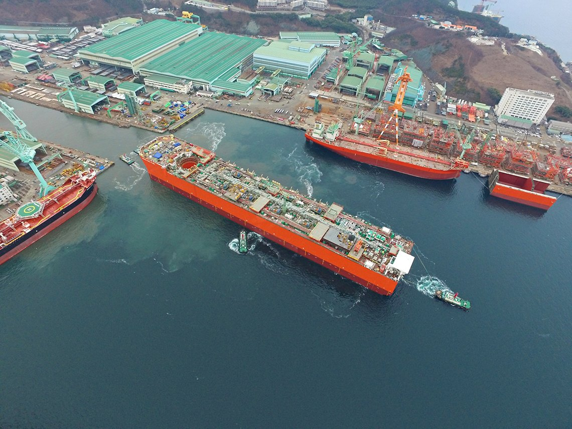 Coral Sul Floating Liquefied Natural Gas (FLNG)