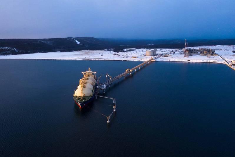 Sakhalin-2 LNG tanker